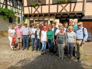 Freundeskreis Bingen - Nuits machte Ausflug ins Elsass